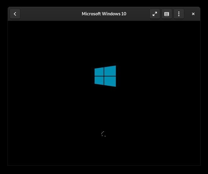 Cajas: iniciando Windows