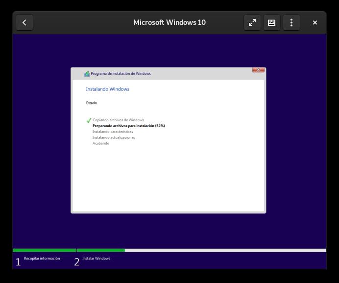 Cajas: instalando Windows