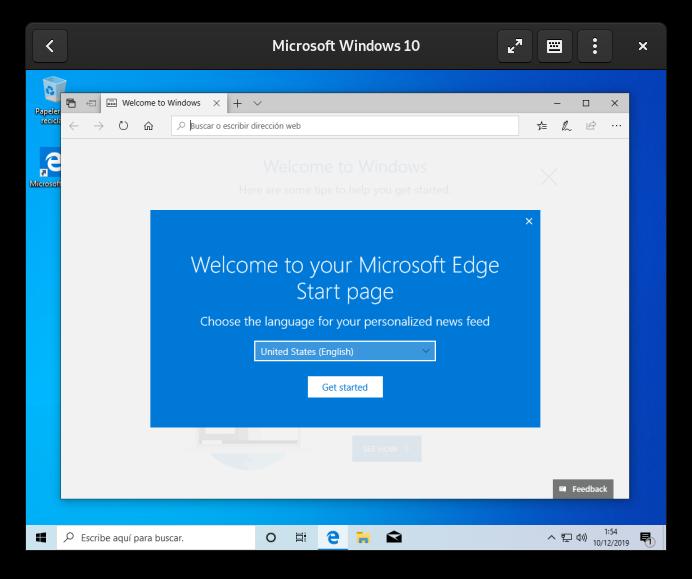 Cajas: Windows instalado